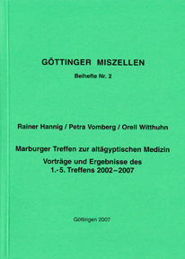 Göttinger Miszellen - Supplements 2