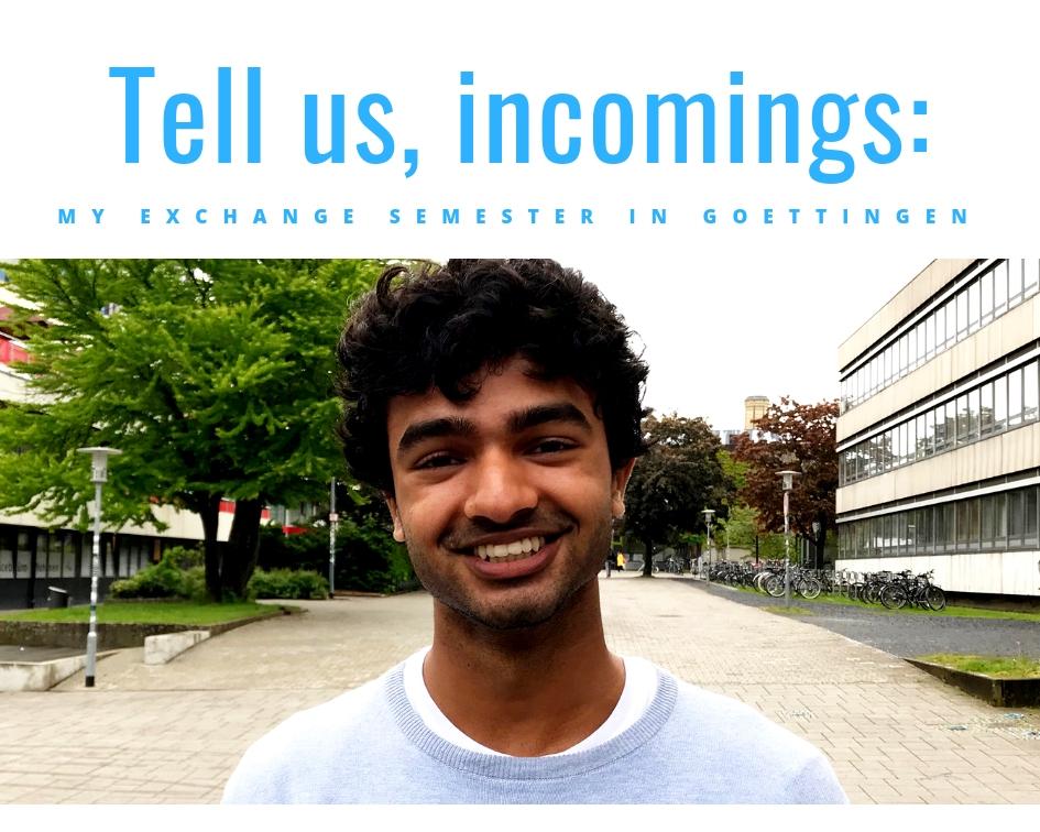 Video mit Austauschstudierendem aus Indien