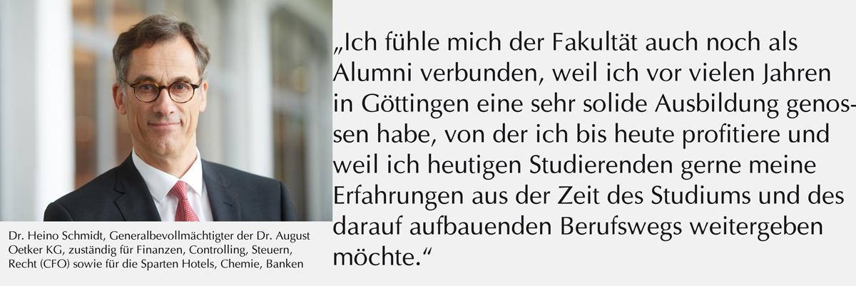 Zitat Alumnus Schmidt Dr. Oetker