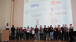 IRTG students and sponsors