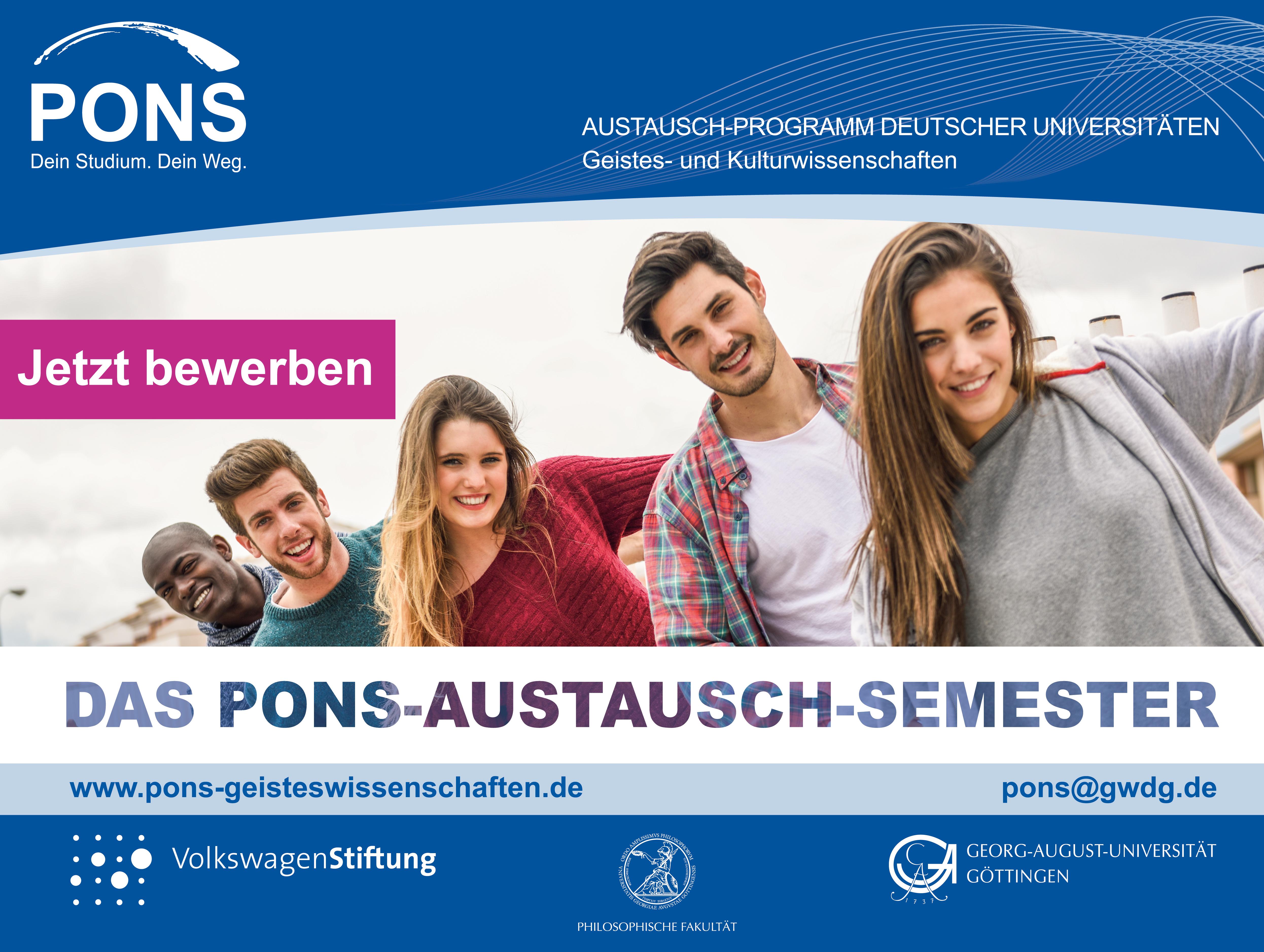 srp_pons bewerbung - Uni Gottingen Bewerbung