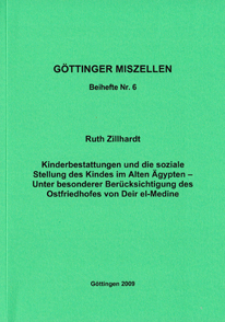 Göttinger Miszellen - Supplements 6