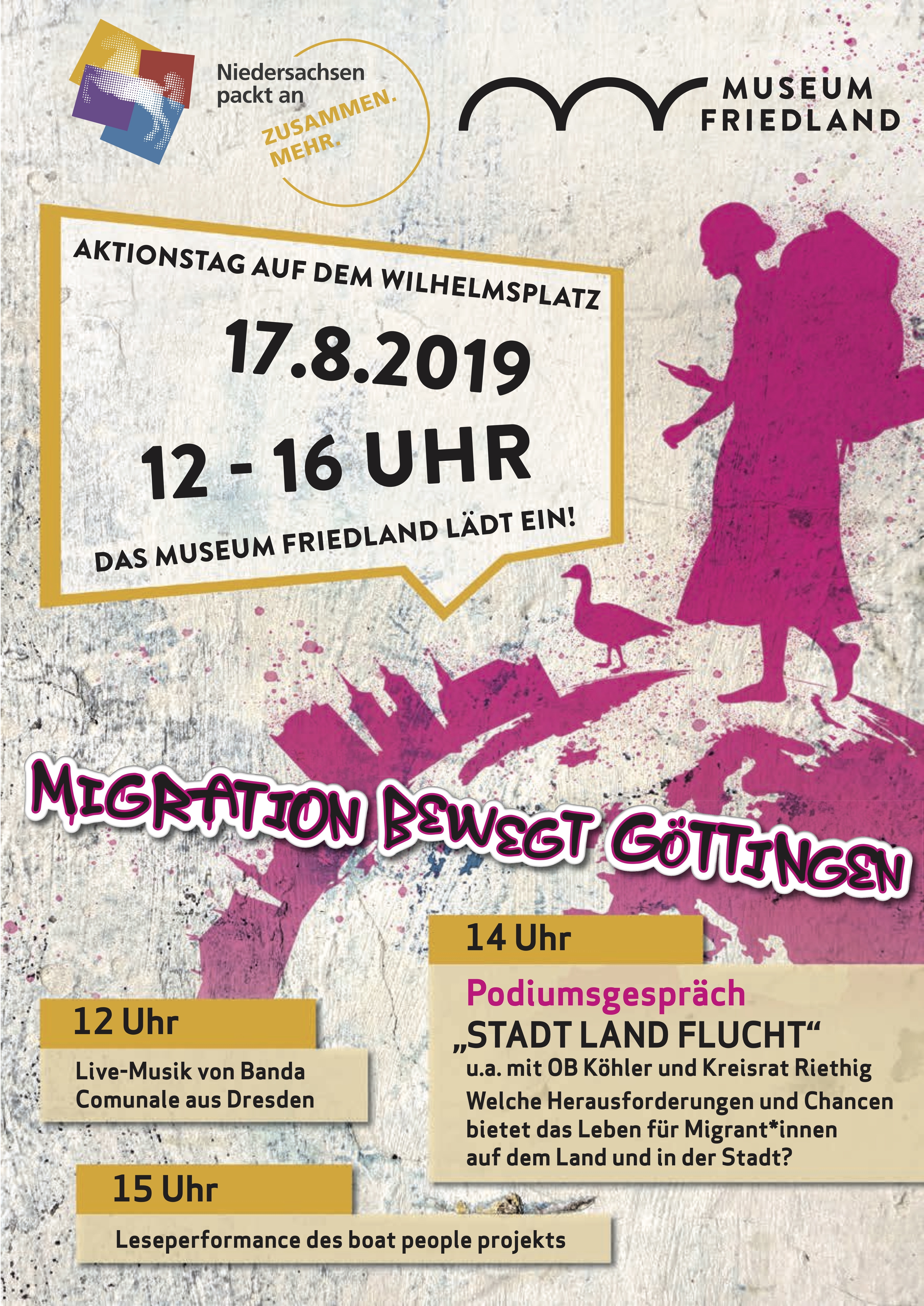 Flyer Aktionstag Museum Friedland
