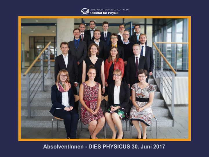 Dies physicus georg august universit t g ttingen for Physik studium nc