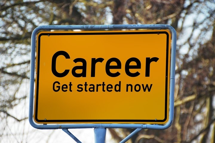 Career Guidance Roadsign