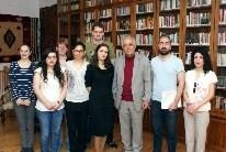 Die Exkursionsteilnehmenden im Wiener Institut für Kordologie