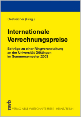 Buch_Internationale Verrechnunspreise