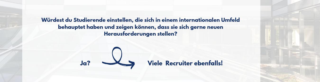 Auslandssemester Recruiter