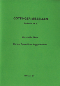 Göttinger Miszellen - Supplements 9