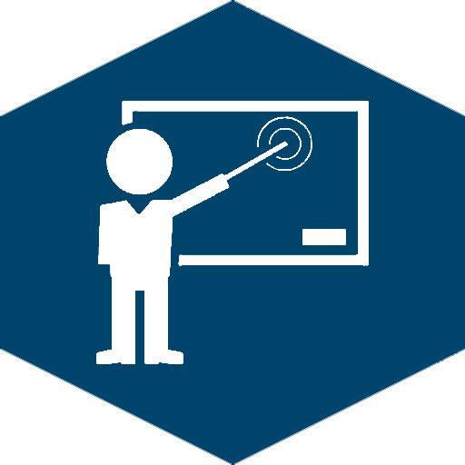 Interaktive Whiteboards (Icon blau)
