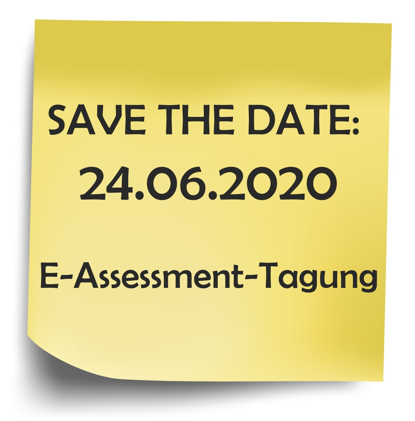 Call for Poster 'E-Assessment-Tagung 2020'