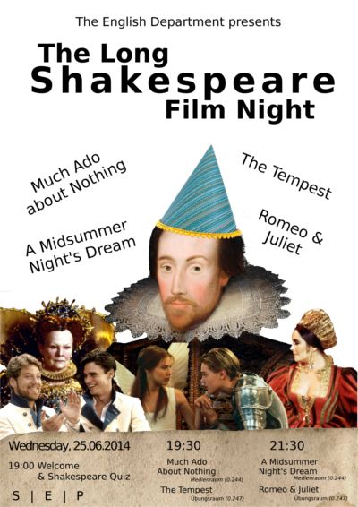 Shakespeare Film Night klein