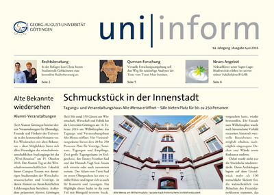 uniinform Titel April 2016