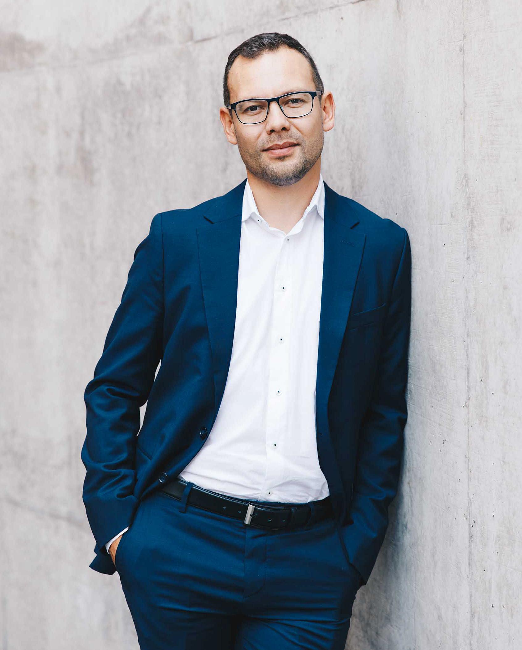 Porträtaufnahme von Martin Heistermann