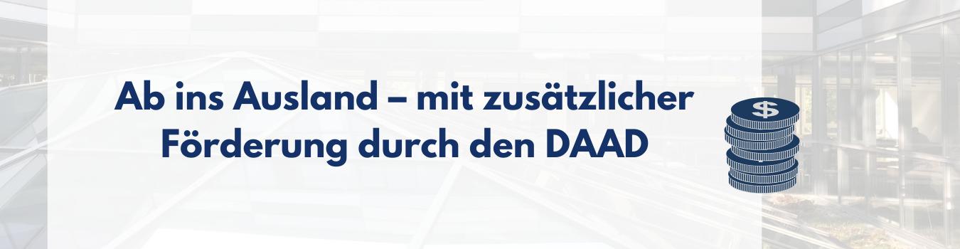 Vom DAAD geförderte Programme