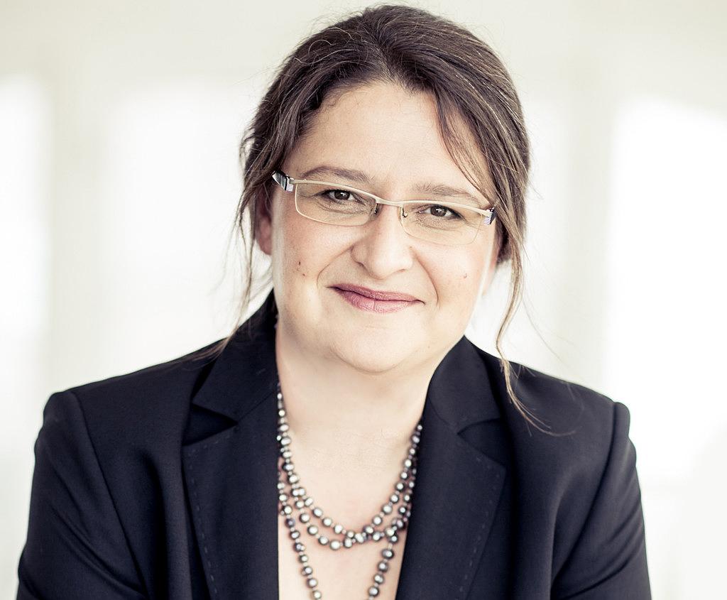 Porträtaufnahme von Petra Scharner-Wolff
