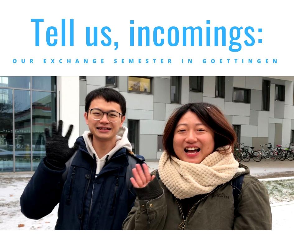 Video mit Austauschstudierenden aus Taiwan