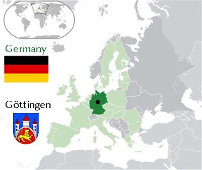 Info Göttingen GeorgAugustUniversität Göttingen - Germany map gottingen