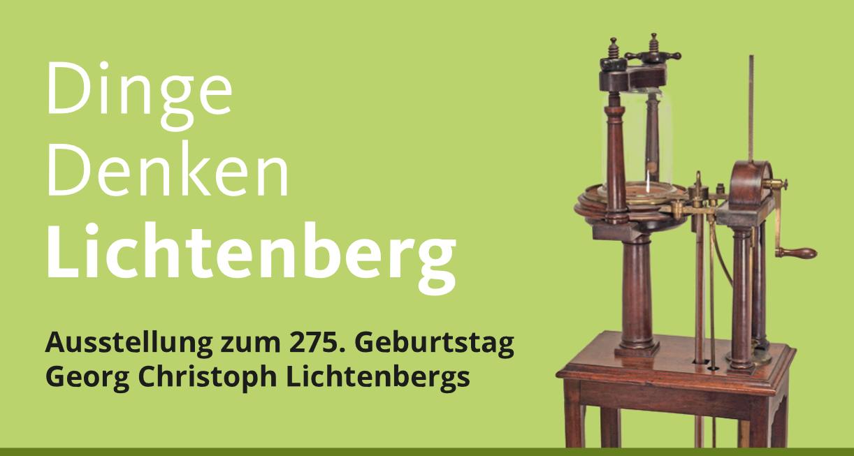 Dinge Denken Lichtenberg Ausstellung