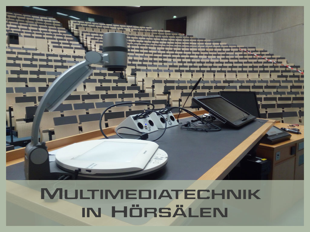 Multimediatechnik in Hörsälen