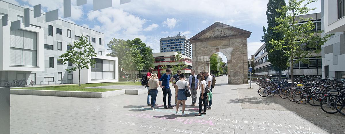 Gruppe Studierende vor LSG