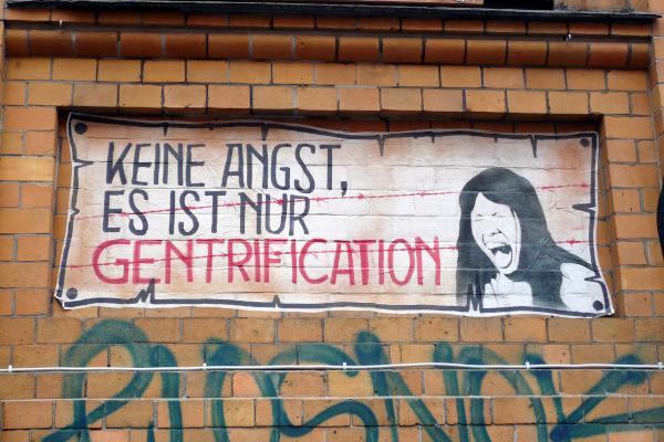 Gentrifizierung ist eines der Themen, die in der Humangeographie behandelt werden, auch in Göttingen
