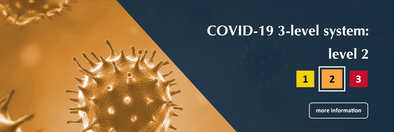 COVID-19 3-level systeme: level 2 - Learn more