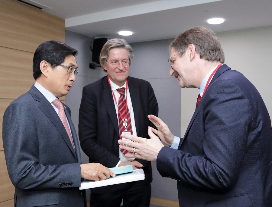 2018-10-25 meeting with Minister Park Sang-ki_2
