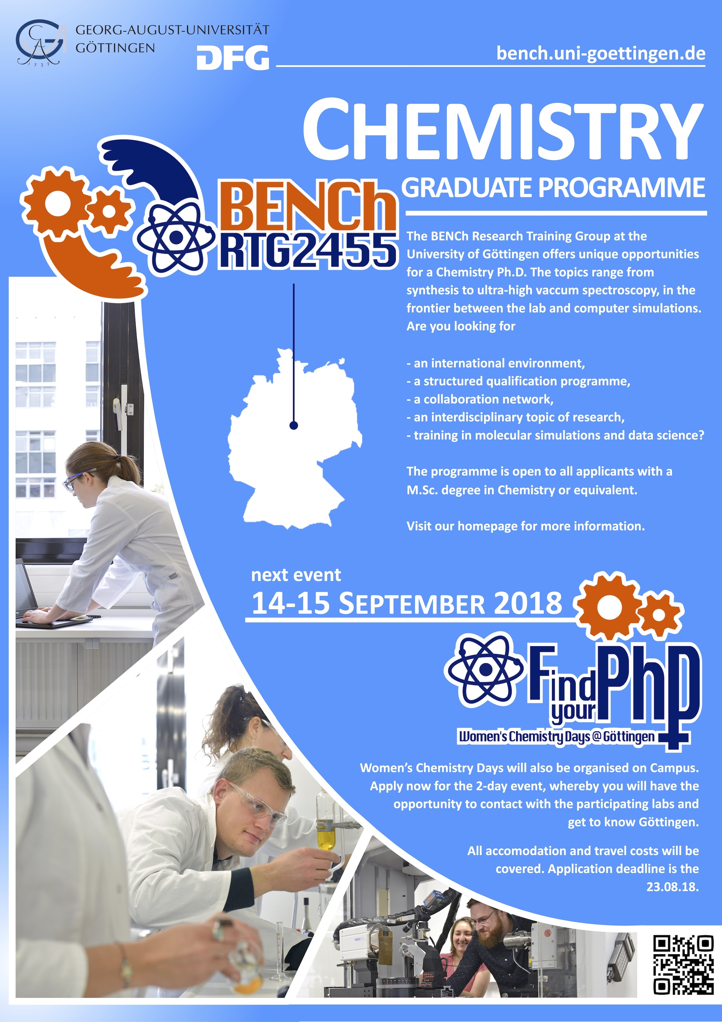 FindYourPhD poster