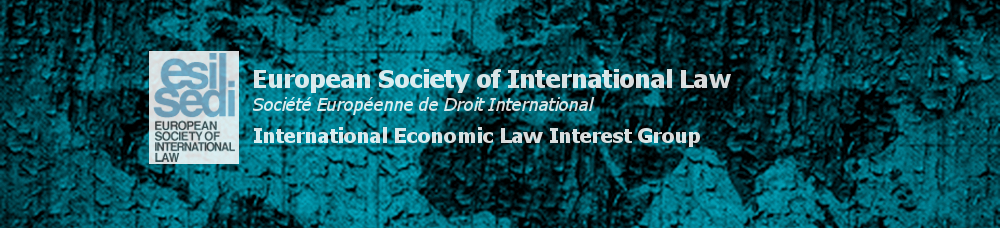 International Economic Law Interest Group of the European Society of International Law