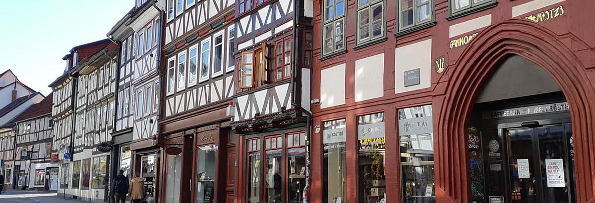Fachwerkhäuser in Göttingen