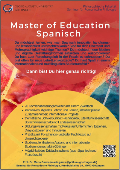 Master of Education SpanischNEU