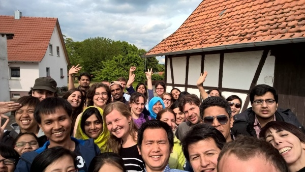 Summer excursion Bavaria 2015 AG Internat. 5