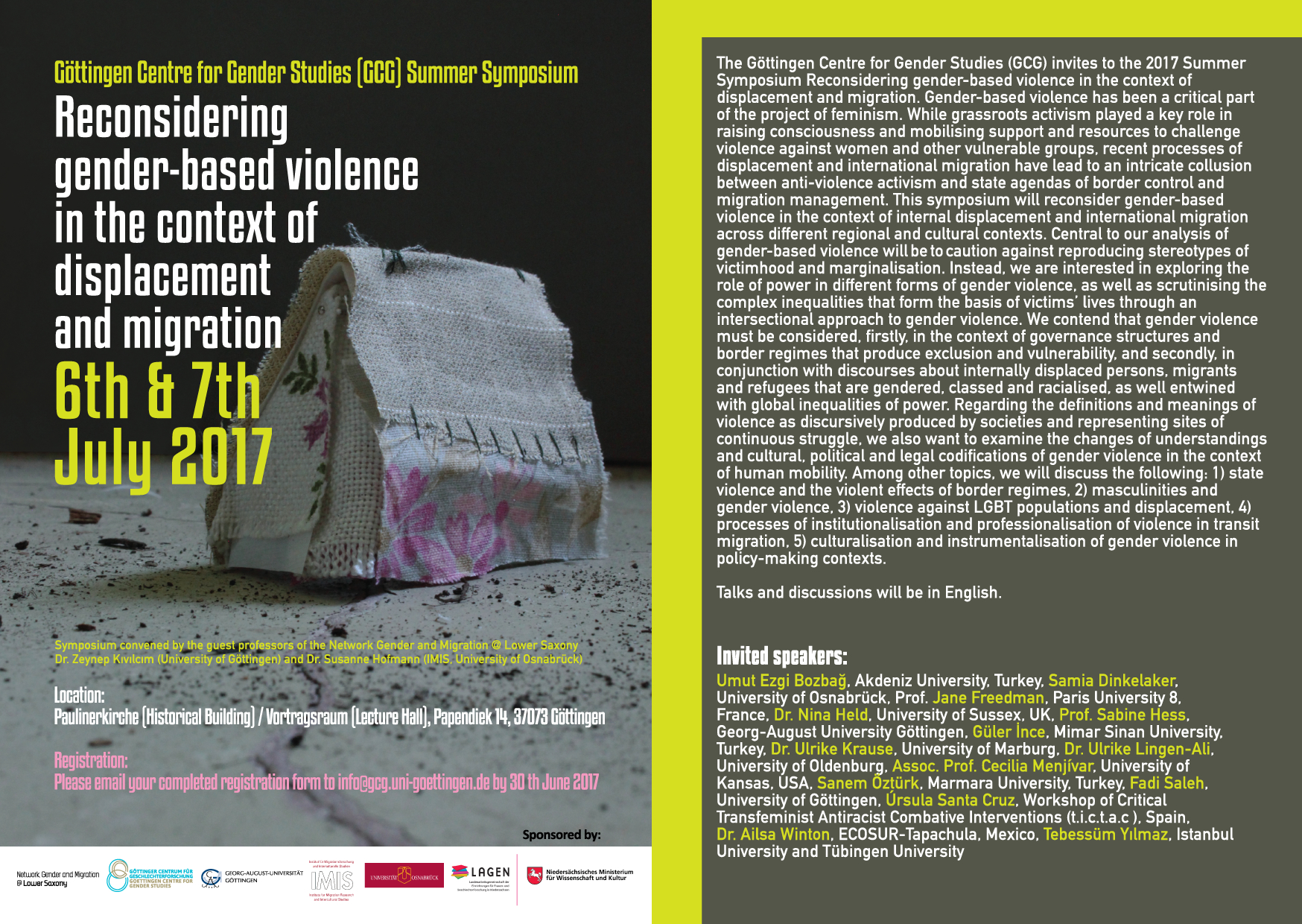 2017 Symposium Reconsidering gender-based violence
