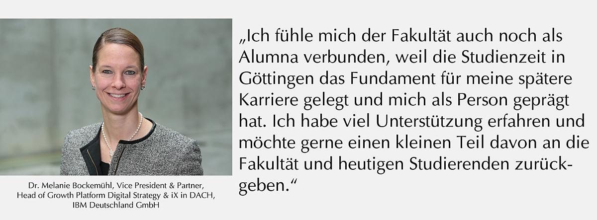 Zitat Alumna Melanie Bockemühl