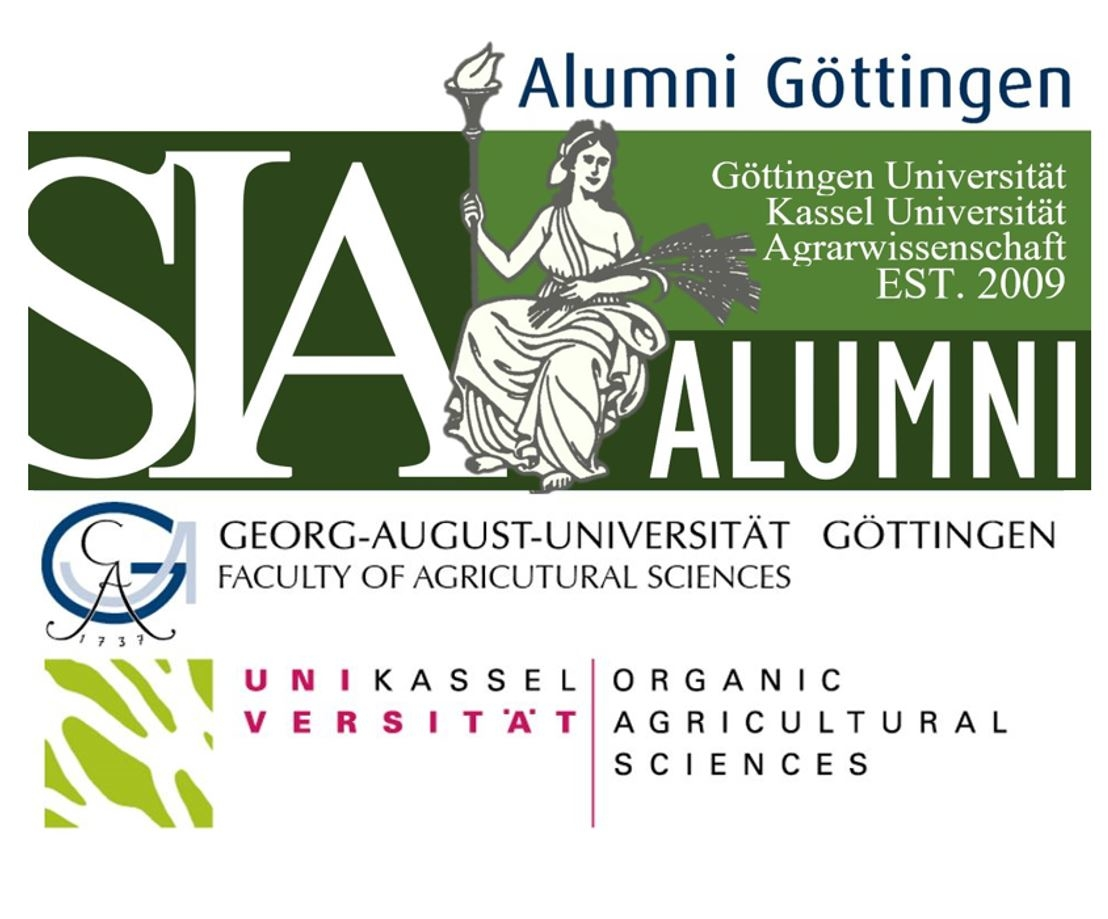 SIA Alumni Logo with universities